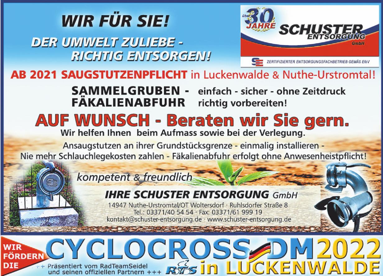 Ihre Schuster Entsorgung GmbH