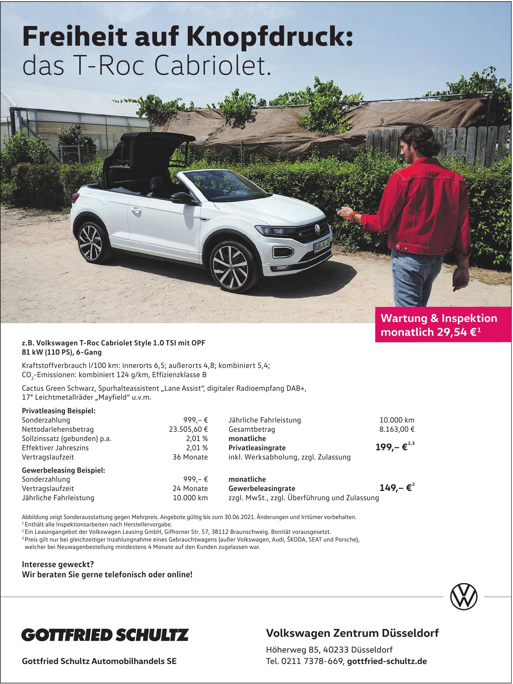 Volkswagen Zentrum Düsseldorf - Gottfried Schultz Automobilhandels SE