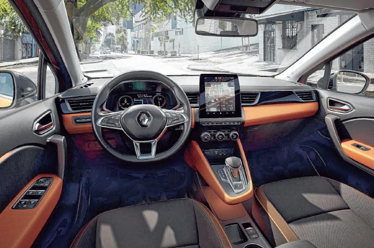 """Den Innenraum prägt nach Vorbild des neuen Clio das fahrerorientierte """"Smart Cockpit"""" FOTOS: RENAULT"""