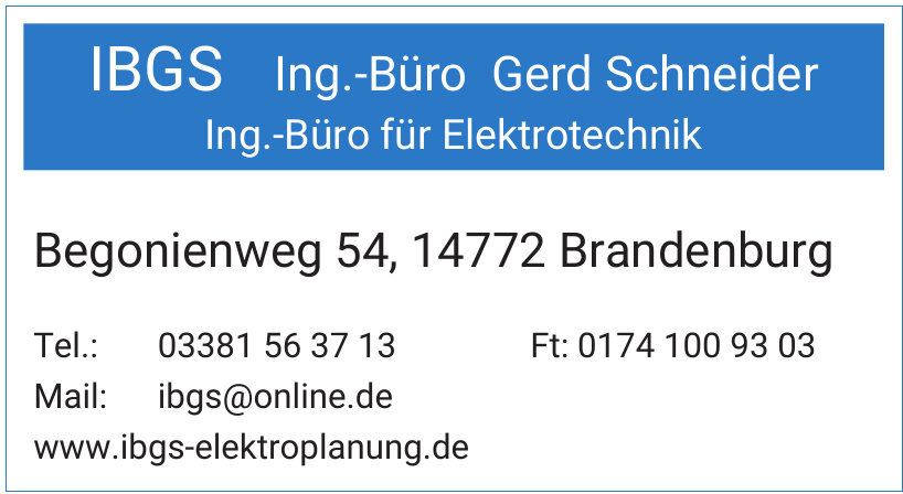 IBGS Ing.-Büro Gerd Schneider