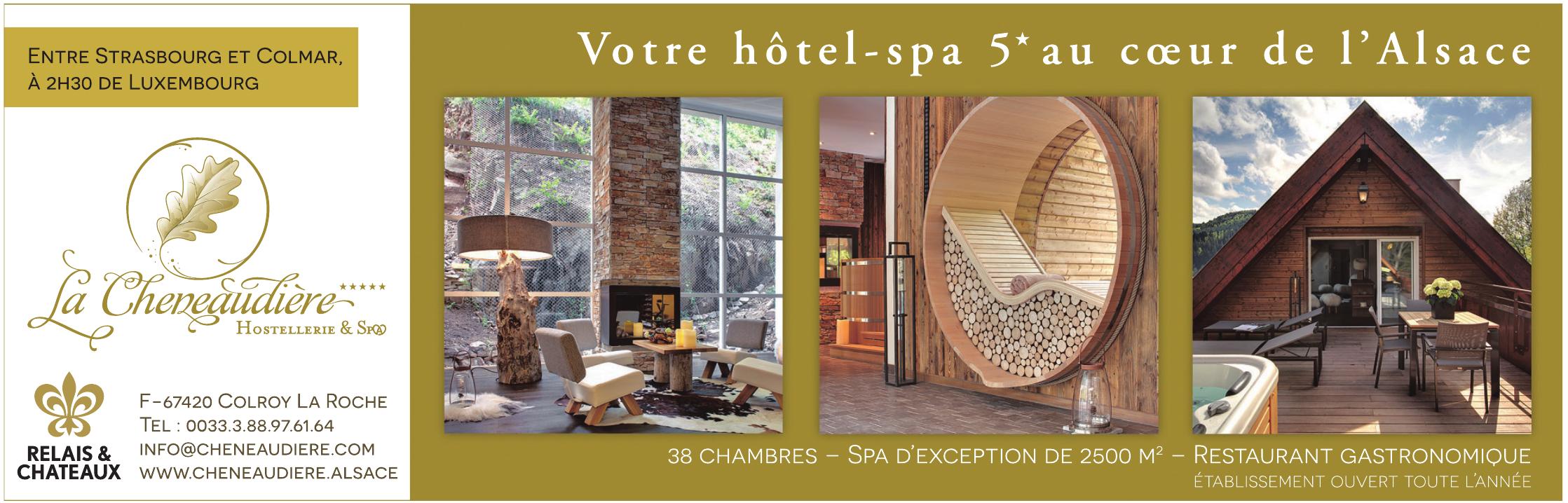 Hostellerie La Cheneaudiere & Spa
