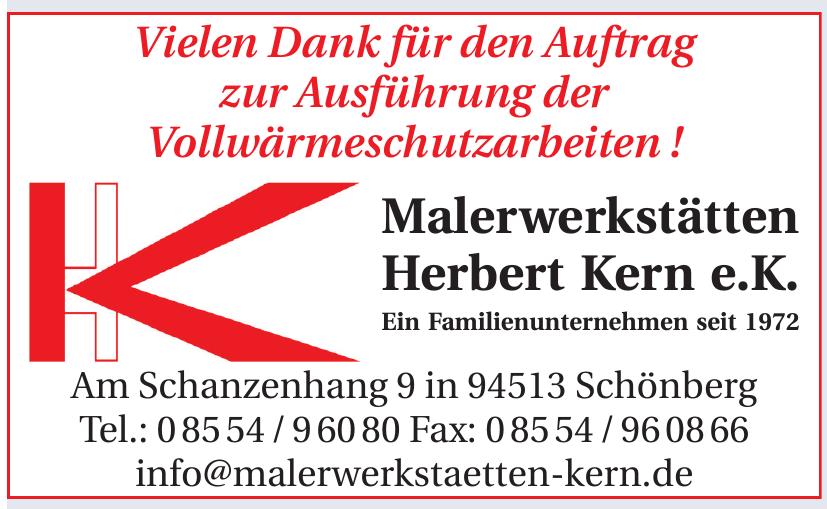 Malerwerkstätten Herbert Kern e.K.