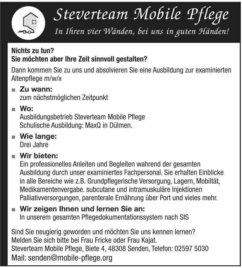 Steverteam Mobile Pflege