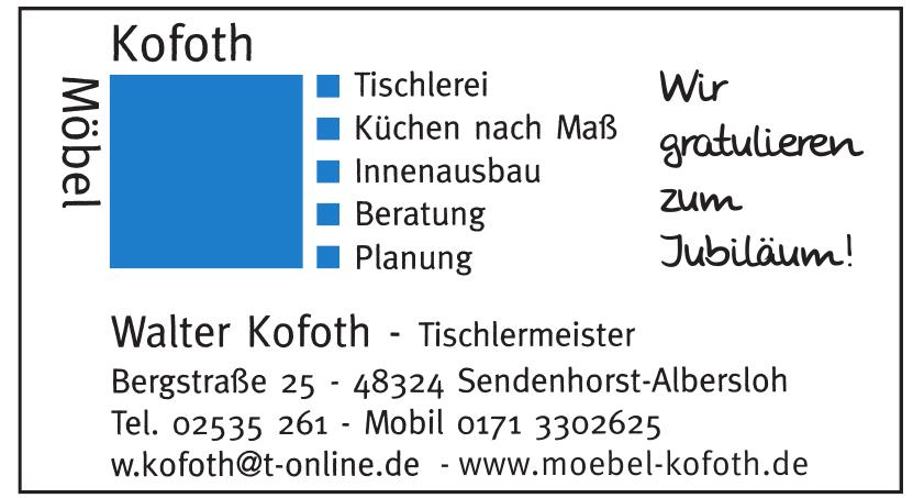 Möbel Kofoth