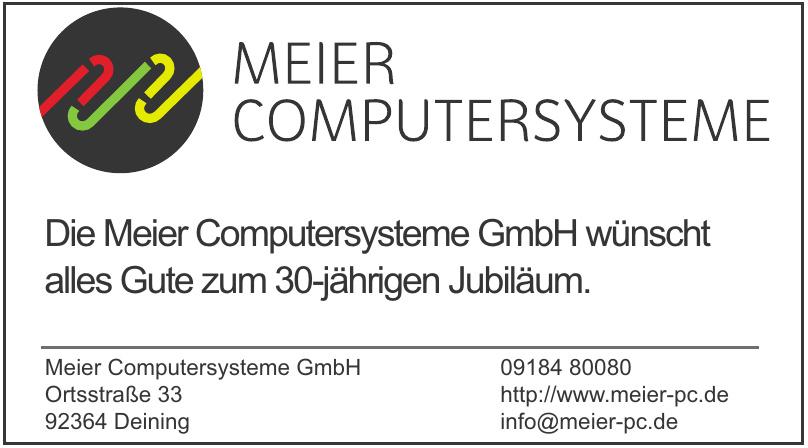 Meier Computersysteme GmbH