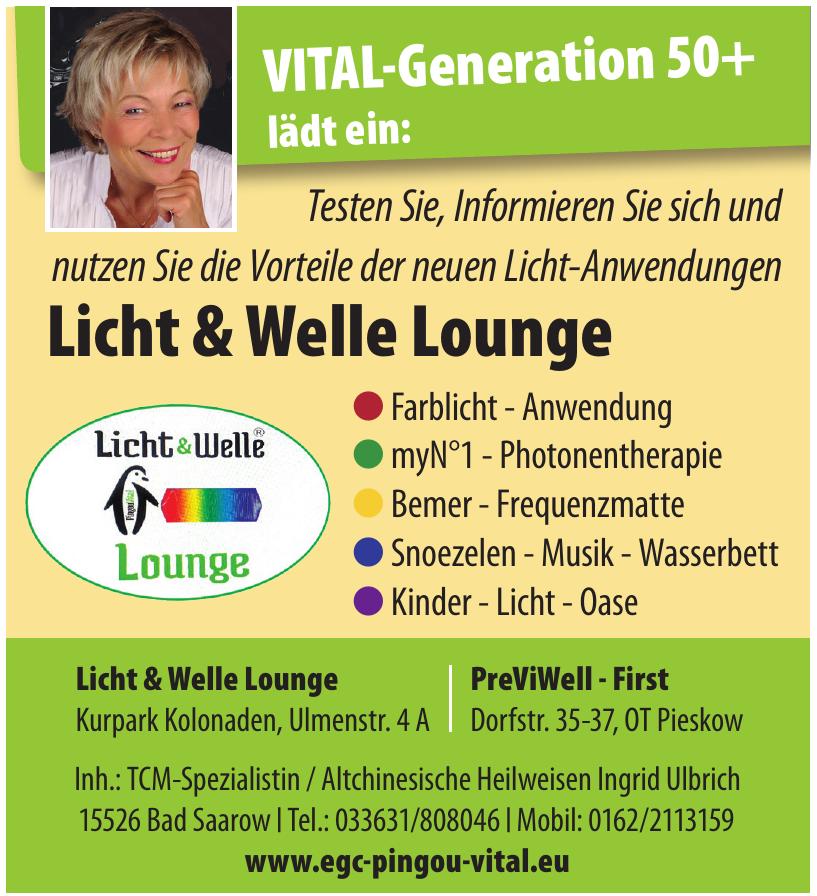 Licht & Welle Lounge
