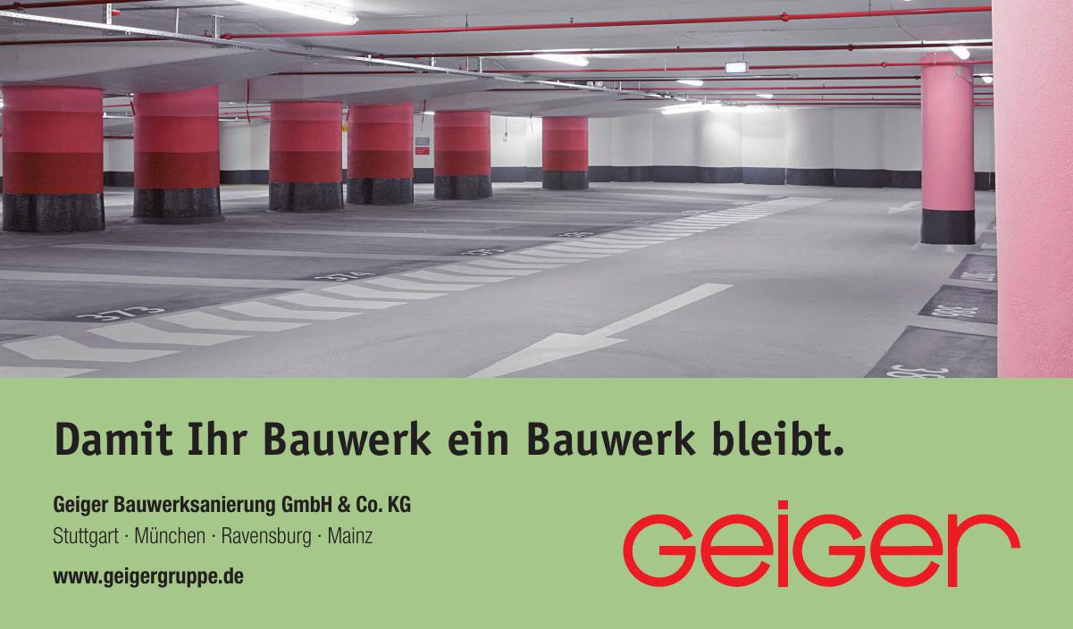 Geiger Bauwerksanierung GmbH & Co. KG