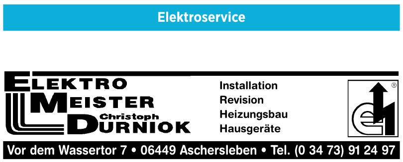 ElektroMeister Christoph Durniok