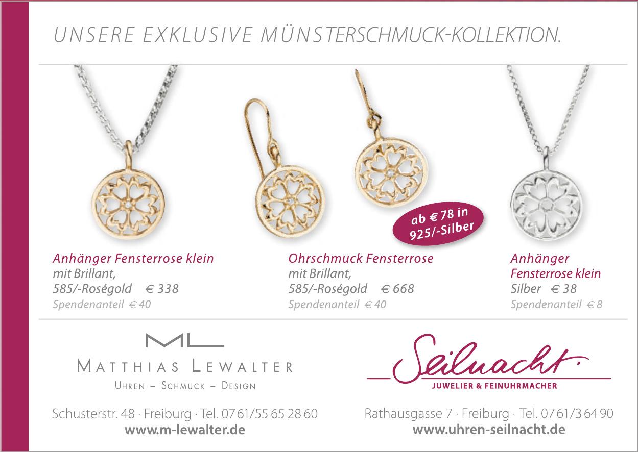Matthias Lewalter Uhren-Schmuck-Design