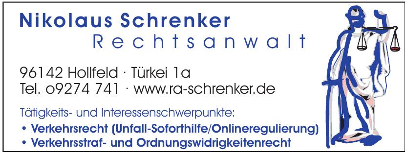 Nikolaus Schrenker Rechtsanwalt
