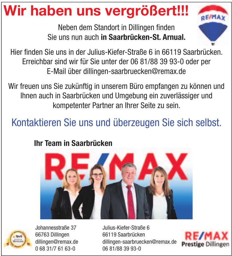 Remax Prestige Dillingen