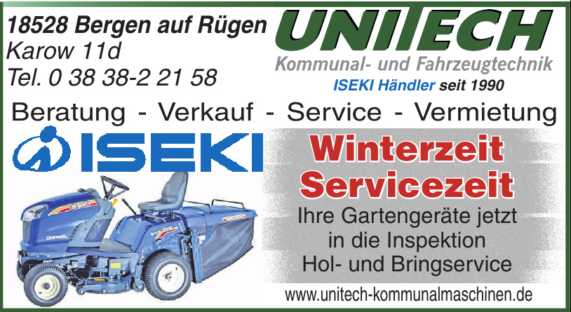 Unitech Kommunal- und Fahrzeugtechnik