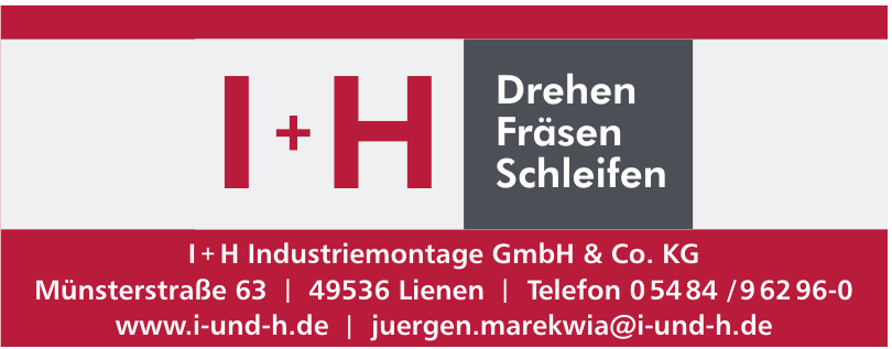 I+H Industriemontage GmbH & Co. KG