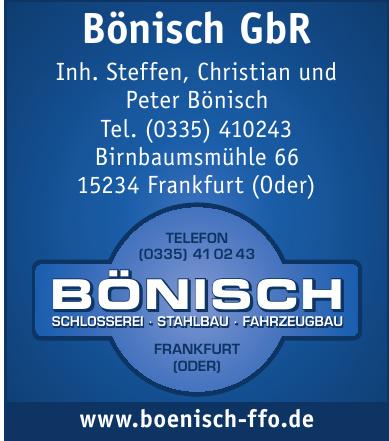 Bönisch GbR
