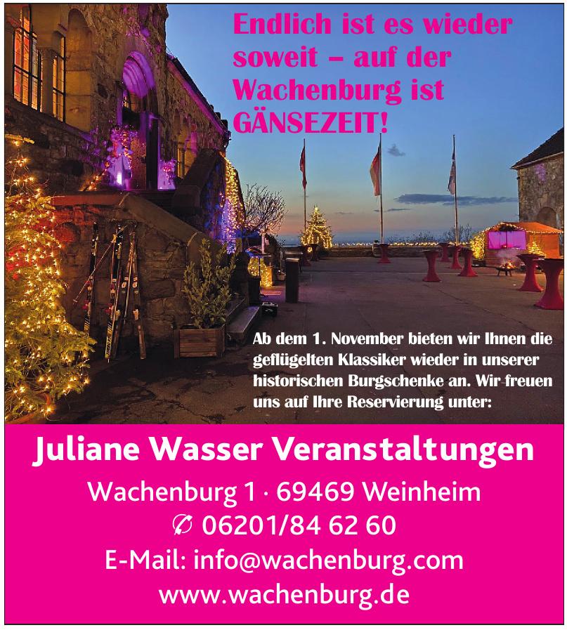 Juliane Wasser Veranstaltungen GmbH