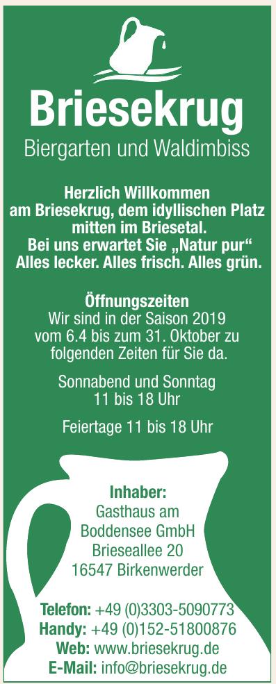 Gasthaus am Boddensee GmbH