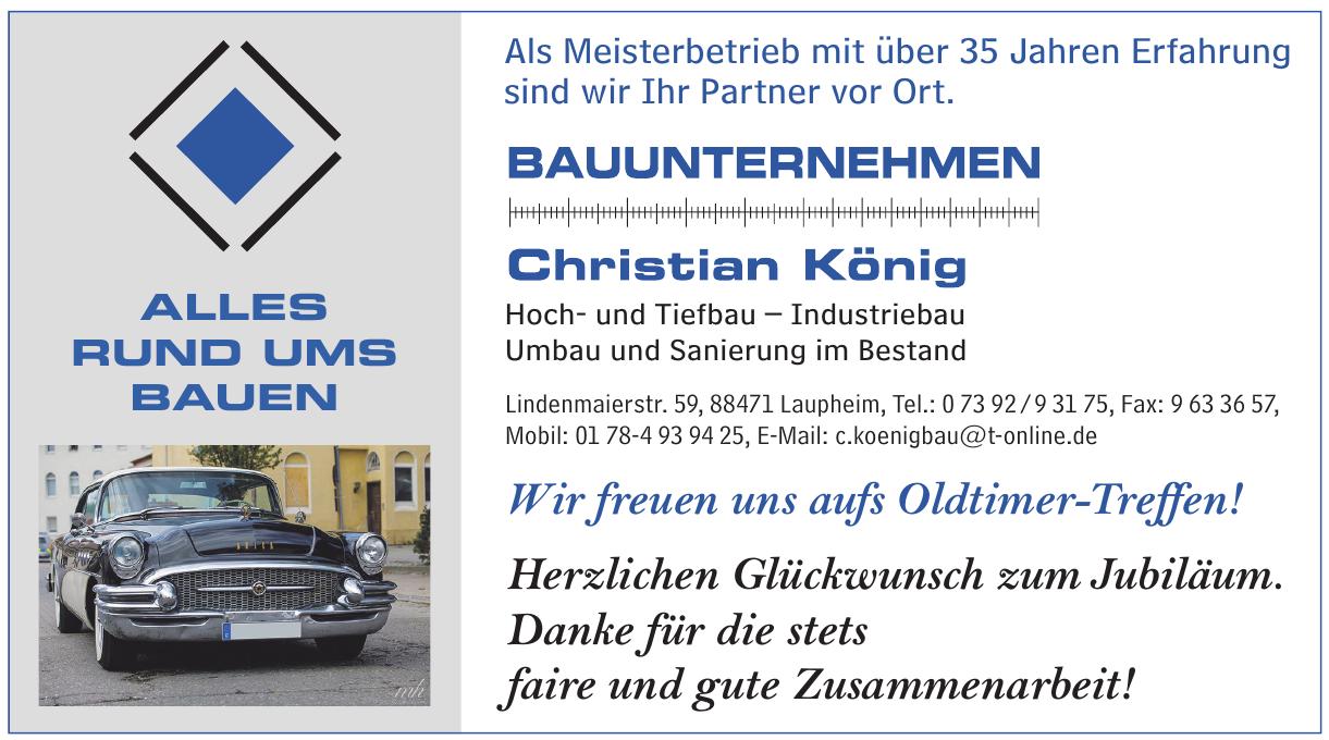 Bauunternehmen Christian König