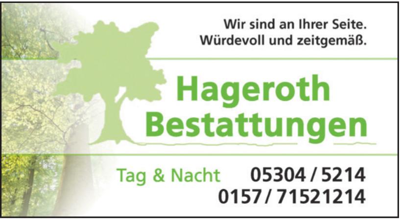 Hageroth Bestattungen