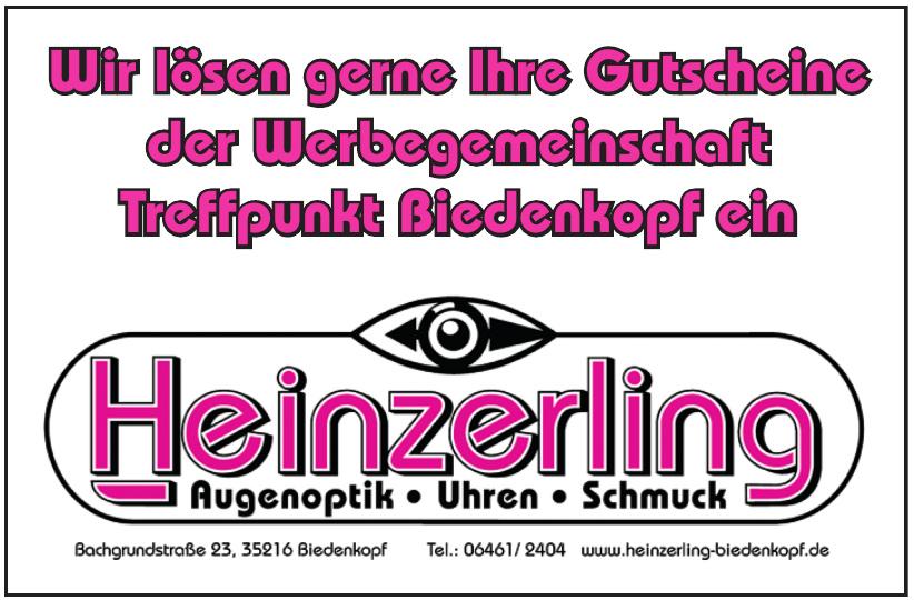 Heinzerling Augenoptik Uhren Schmuck