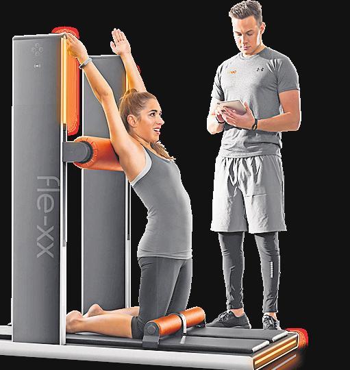 Faszientraining ist auch an speziellen Trainingsgeräten möglich. FOTO: EGYM GMBH
