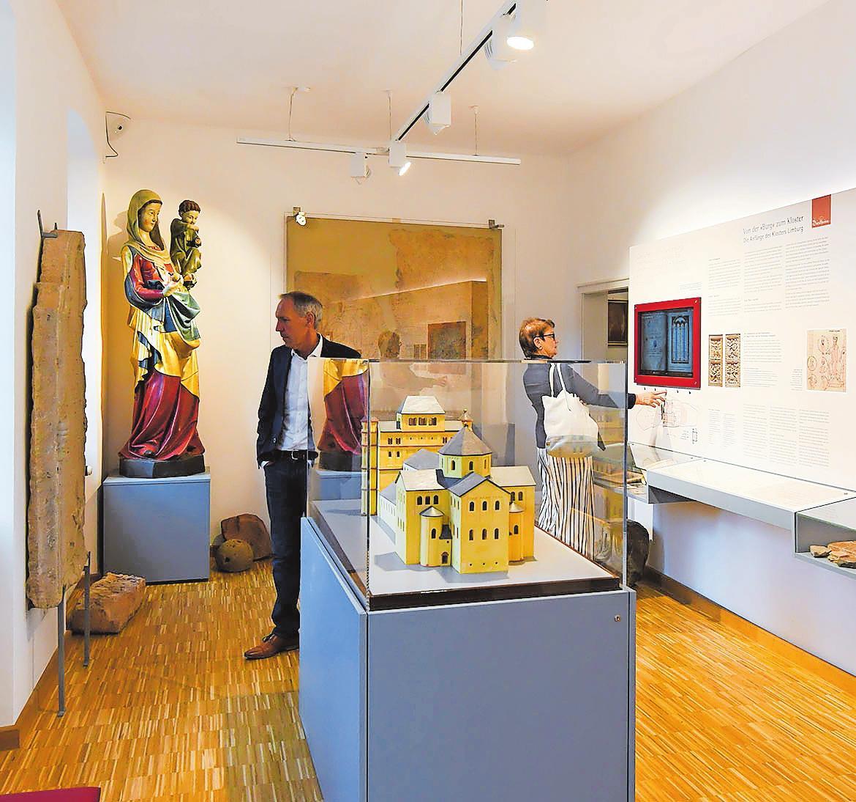 Das frisch renovierte Stadtmuseum kann am Museumstag in aller Ruhe (neu) entdeckt werden. Die Limburg ist natürlich Teil der Ausstellung. FOTO: FRANCK