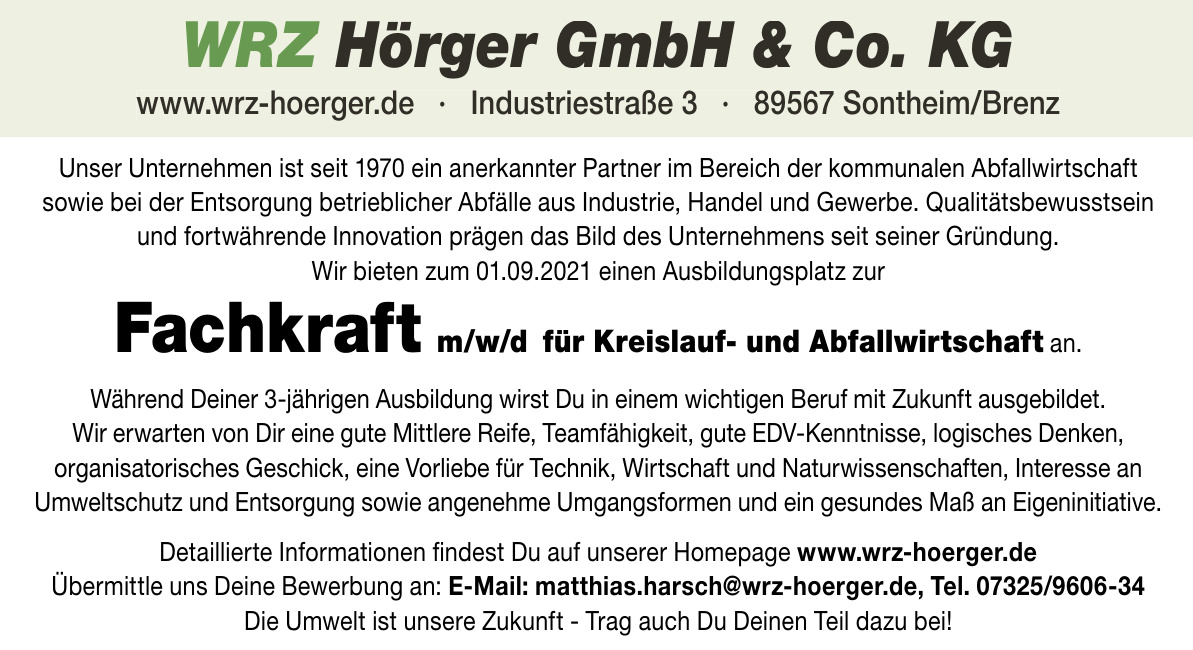 WRZ Hörger GmbH & Co. KG