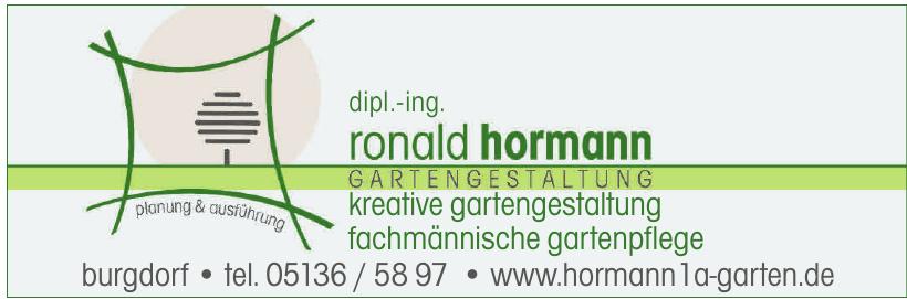 dipl.-ing. Ronald Hormann Gartengestaltung
