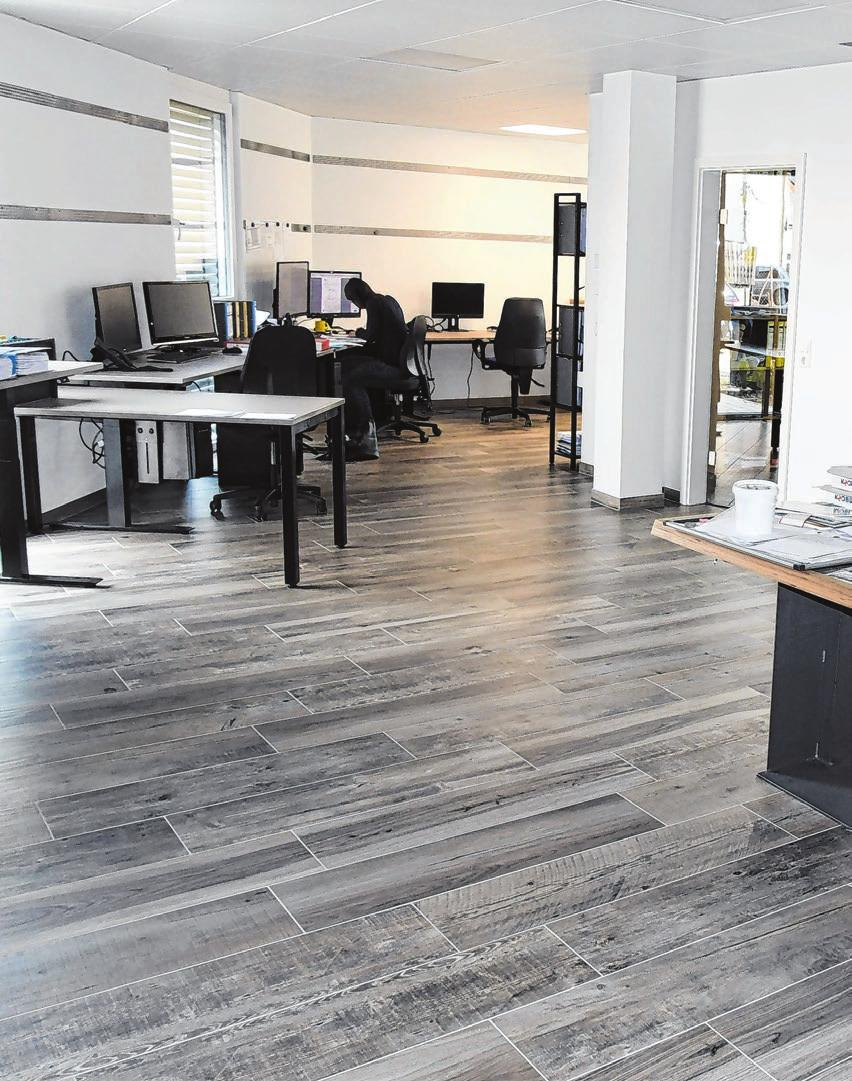 Neue Firmenräume im eigenen Gebäude konnte Bauplanung Nedele&Partner beziehen.