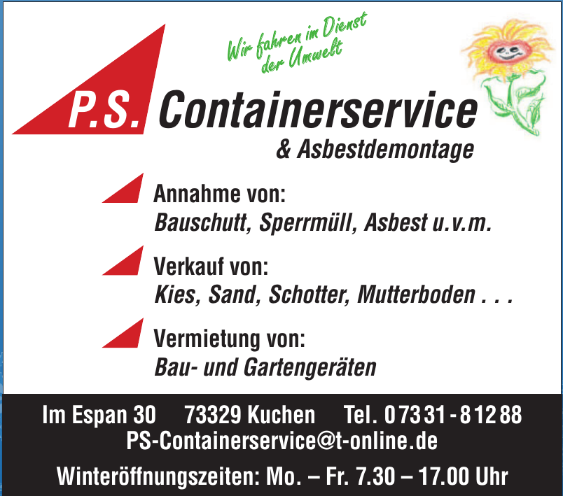 P.S. Containerservice & Asbestdemontage