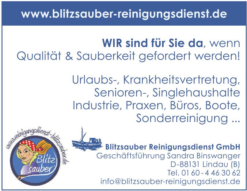 Blitzsauber Reinigungsdienst GmbH
