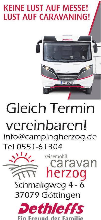 Reisemobil Caravan Herzog