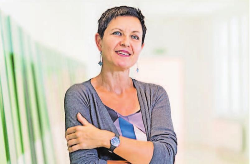 Dr. Andrea Jahn, Direktorin und künstlerische Leiterin der Stadtgalerie Saarbrücken. Foto: Anton Minayev