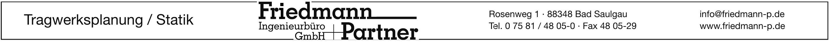 Friedmann & Partner / Ingenieurbüro GmbH