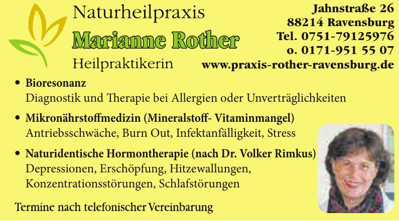 Marianne Rother Heilpraktikerin