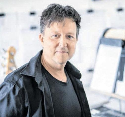 Stephan Boehme hat für das Jubiläum eine audiovisuelle Fantasie für zwei Klaviere und großes Orchester komponiert. Foto: Privat