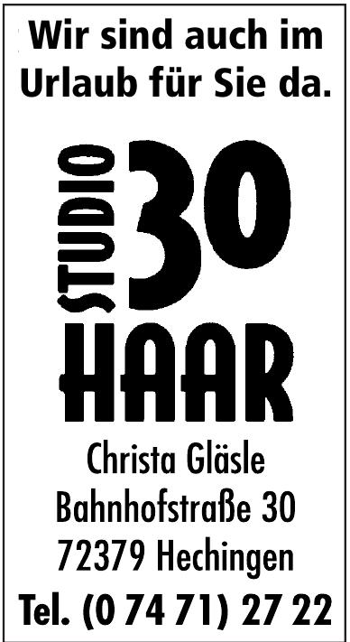 Haar Studio 30