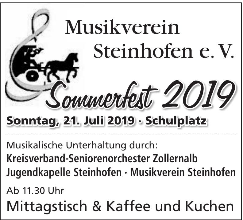 Musikverein Steinhofen e. V.