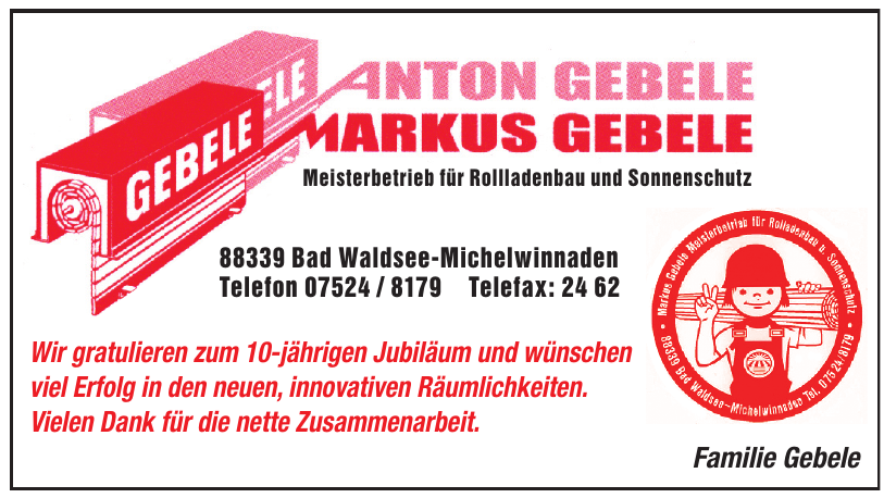 M. Gebele Service - Beratung · Sonnenschutztechnik