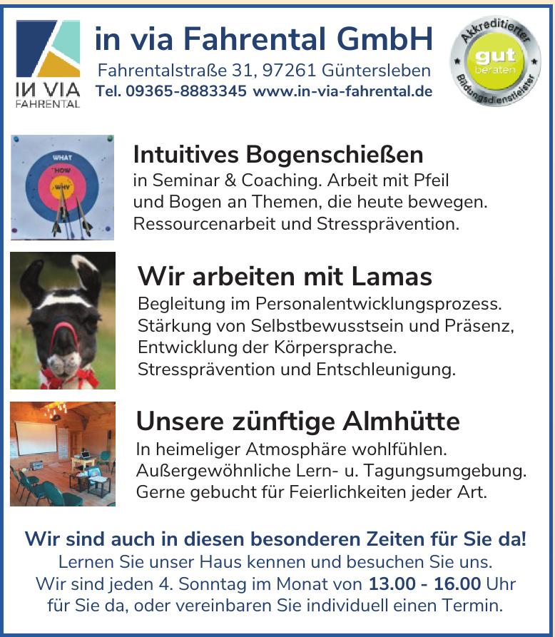In via Fahrental GmbH