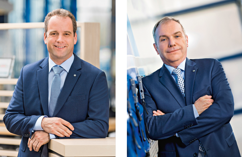 Ansgar Jansen and Stefan Oelker strengthen the team of the Krone Commercial Vehicle Group.