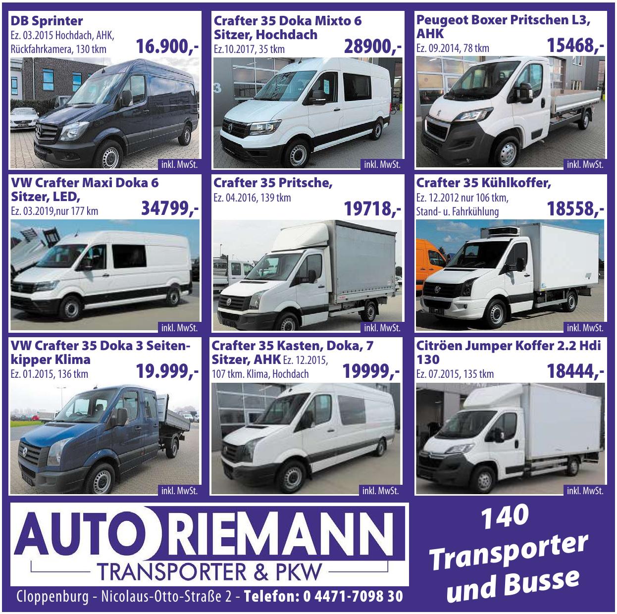 Auto Riermann