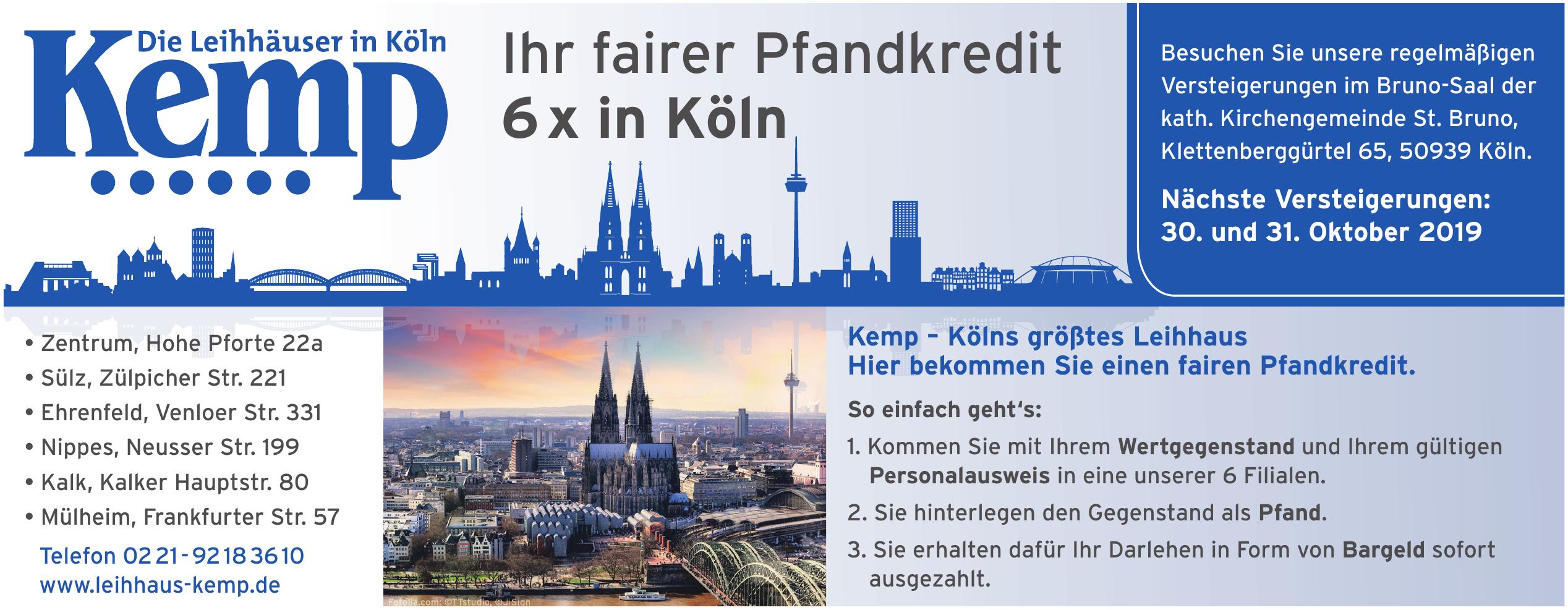Leihhäuser Kemp GmbH
