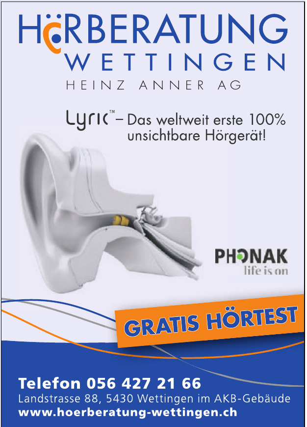 Hörberatung Wettingen AG