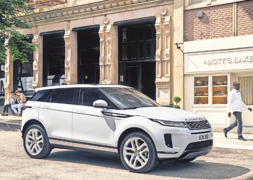 Der neue Range Rover Evoque kommt im April 2019 auf den deutschen Markt.