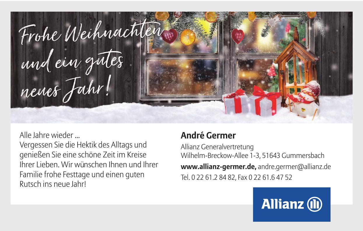 André Germer - Allianz Generalvertretung