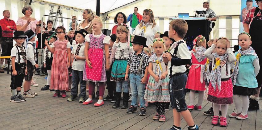 Auch 2019 gehört das Kinderfest zur Kirchweih dazu. Fotos: Verein