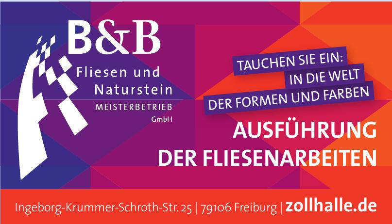B & B Fliesen und Naturstein GmbH