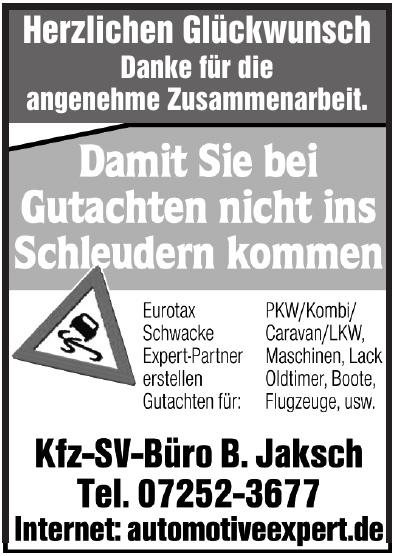 Kfz.-SV-Büro B. Jaksch