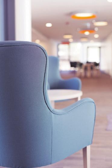 Die neuen Räume im Haus der Pflege Dr. Albert Moll in Tettnang sind hell und einladend. FOTOS: PR