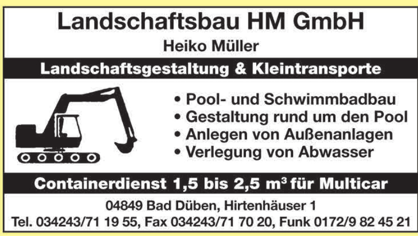 Landschaftsbau HM GmbH